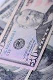 50 долларов банкнот Стоковые Изображения