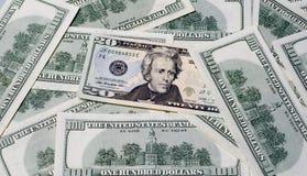 10 долларов в Соединенных Штатах Америки Стоковые Фото