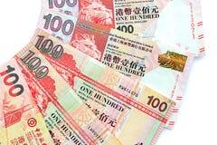 100 долларов Гонконга Стоковая Фотография