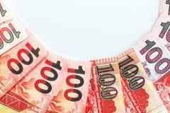 100 долларов Гонконга Стоковые Фотографии RF