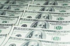 100 долларов денег Стоковая Фотография