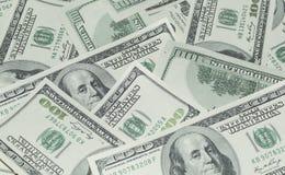 100 долларов денег Стоковое фото RF
