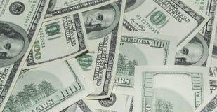 100 долларов денег Стоковая Фотография RF