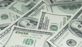 100 долларов денег Стоковые Изображения RF