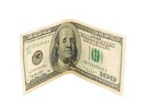 100 долларов Стоковые Изображения