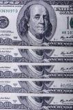 100 долларов кредиток Стоковые Фото