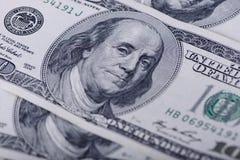 100 долларов кредиток Стоковое Изображение RF