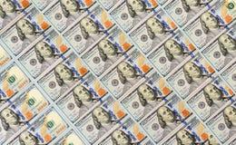 100 долларов предпосылки кредиток Стоковые Фото