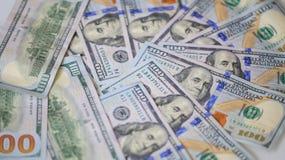 100 долларов счетов - финансов денег $ Стоковое Изображение RF