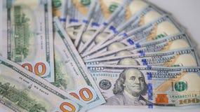 100 долларов счетов - финансов денег $ Стоковая Фотография RF