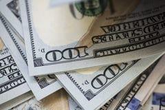 100 долларов счетов Стоковые Изображения RF