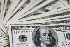 100 долларов счетов Стоковые Фотографии RF