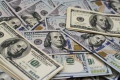 100 долларов счетов Стоковое Изображение RF