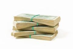 50 долларов США тысяч наваливают с путем клиппирования Стоковое Фото