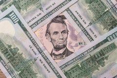 5 долларов США Стоковое Фото