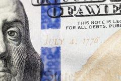 100 долларов США Стоковое фото RF