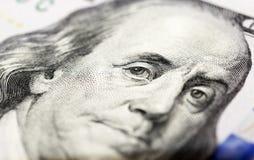 100 долларов США Стоковое Изображение