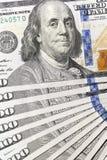 100 долларов США Стоковые Фото
