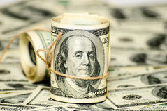 100 долларов США Стоковые Изображения RF