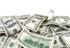 100 долларов текстуры Стоковые Фотографии RF