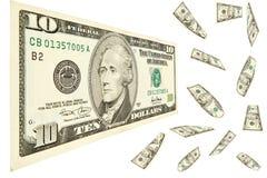 10 долларов Стоковые Фото