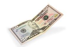 50 долларов Стоковое Фото