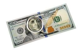 100 долларов Стоковые Фото