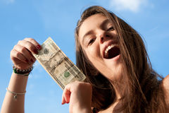 20 долларов Стоковое Изображение RF