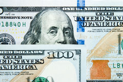 100 долларов Стоковое Изображение RF
