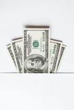 100 долларов Стоковое Изображение