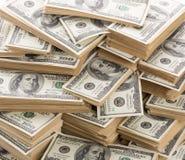 доллары вороха Стоковое фото RF