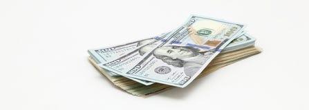 доллары вороха Стоковая Фотография