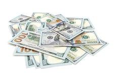 доллары вороха Стоковые Фотографии RF