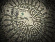 доллары вороха Стоковые Изображения