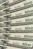 доллары вороха Стоковое Фото