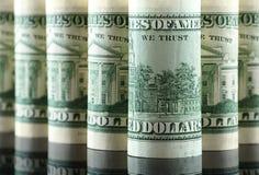 доллары дела 3d много возражают Стоковые Изображения RF