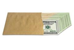 доллары дела 3d много возражают Стоковые Фото