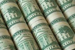доллары дела 3d много возражают Стоковая Фотография RF