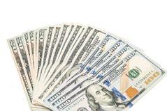 доллары изолировали Стоковые Фото