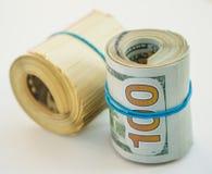 доллары 100 кренов Стоковые Фото