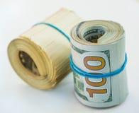 доллары 100 кренов Стоковые Изображения