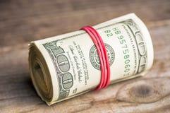 доллары 100 кренов Стоковая Фотография