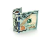 доллары кредитки 100 одних Стоковые Изображения RF