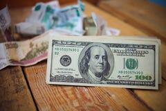 доллары 100 одних Стоковые Изображения RF