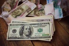 доллары 100 одних Стоковые Фото