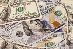 доллары 100 одних Стоковое Фото