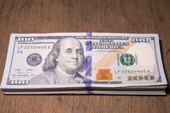 доллары пакета Стоковая Фотография RF
