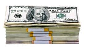 доллары пакета Стоковые Фотографии RF