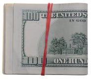 доллары предпосылки белые Стоковое Фото