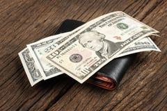 доллары предпосылки изолировали нас белые стоковые изображения rf